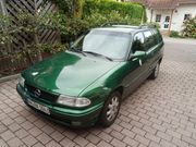 Opel Astra Combi mit Allwetterreifen