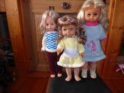 Schöne Puppen mit Haaren