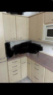 Küche EBK Einbauküche Holzküche G-Form