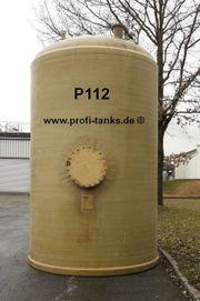 P112 gebrauchter 20000L Polyestertank Flachboden