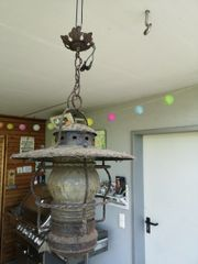 Sehr alte Lampe zu verkaufen