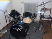 Schlagzeug Schwarz Marke Basix