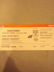 2 Tickets Sarah Connor Sommertour