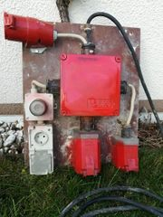 Baustromverteiler 5lfm Zuleitung