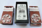 Batterien für Hörgeräte Typ 312