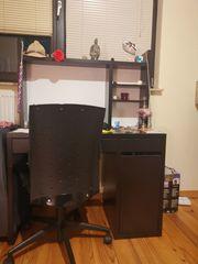 Schreibtisch schwarz zu verkaufen