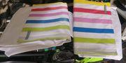 Neue Radtaschen in Weis