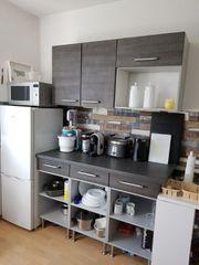 Küche Hängeschrank Unterschrank Küchenzeile anthrazit