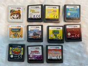 11 Nintendo Spiele einzeln oder