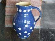 alter Krug Bürgel Keramik Keramikkrug