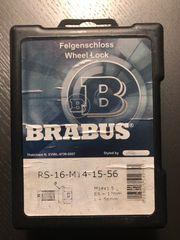 4x Brabus Felgenschlösser Wheel Lock