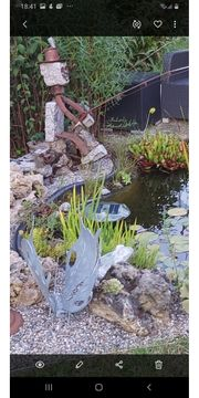 Angler aus Granit