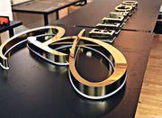 3D Leuchtbuchstaben Leuchtreklame LED Buchstaben