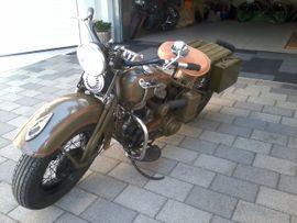 Harley-Davidson - Harley WL WLA750