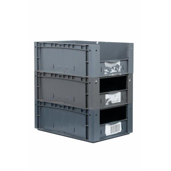 3x Eurobehälter 60x40x22 cm Eurobox