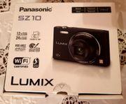 Neuwertig Lumix DMC-SZ10 Digitalkamera klappbares