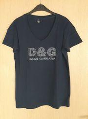 T-Shirt dunkelblau neu Größe 46