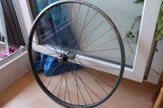 Fahrrad Laufrad vorne schwarz Ersatzteil