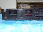 JVC KD-W55 Stereo Doppelkassetten-Deck 100