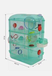 Neuer hamsterkäfig mit Zubehör