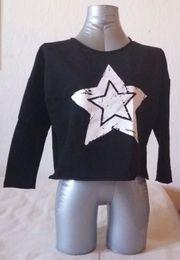 Langarmshirt mit Sternendruck