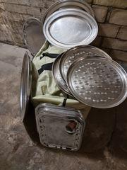 Ovale-Servierplatte-Buffetplatte-Für Gastro-Küche-und Party AB 5