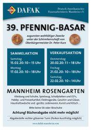 PFENNIGBASAR - Spenden statt verkaufen für