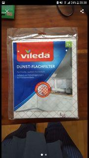 Vileda Dunstabzug Flachfilter 2er Pack