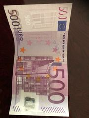 500 Schein mit X Deutschland