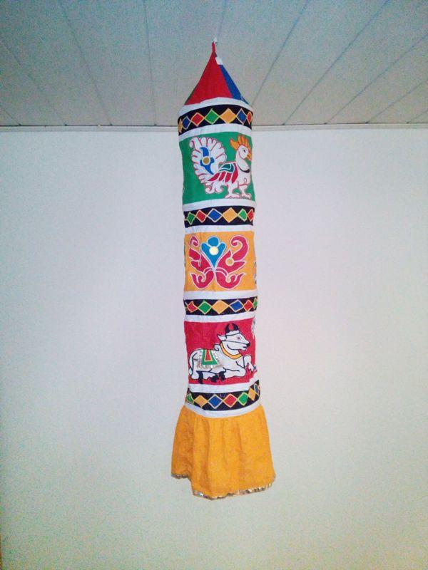 Indischer Lampenschirm Turm