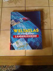 Weltatlas mit großem farbigen Länderlexikon