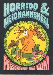 DDR 10 Ansichtskarten Horrido Weidmannsheil