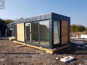 Container Bürocontainer Dampol 6x3m Pavillon
