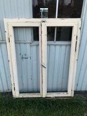 Alte Fenster mit Rahmen gut