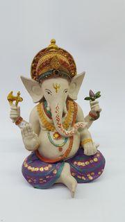 Glücksbringender Ganesha - neue Figur - Indisch
