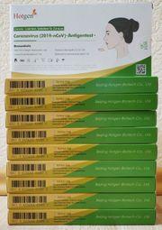 10 Packungen Hotgen Coronavirus Antigentests