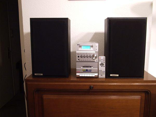 Microanlage LG LX-M140 CD-Player Kassettendeck