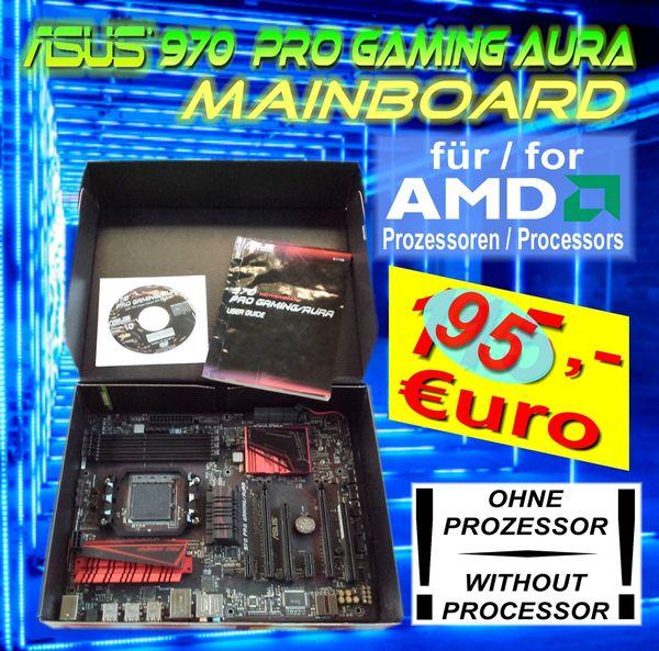 ASUS 970 PRO GAMING MAINBOARD - AMD