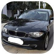 BMW 118i e87 schwarz Motorschaden