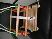 SCHNÄPPCHEN Holzschaukel für Kleinkinder