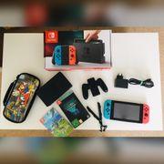 Nintendo Swicht mit Zelda und