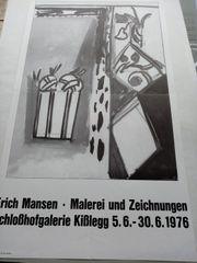 KISSLEGGER JAHRE Erich Mansen Plakat