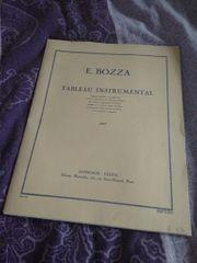 tableau instrumental par Emile Bozza