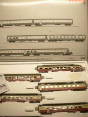 Märklin 37547 TEE-Elektro-Triebwagen-Zug Digital MFX