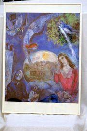 Marc Chagall Um sie herum