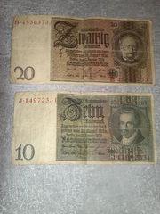 4 Reichsbanknoten