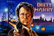 Verkaufe FLIPPER-AUTOMAT DIRTY HARRY
