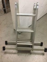 Vielzweckstehleiter Aluminium NEU Hersteller Fa