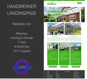 Webseite für Handwerker Baufirmen