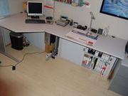 Buiseness Büro Schreibtisch Eckschreibtisch kombination